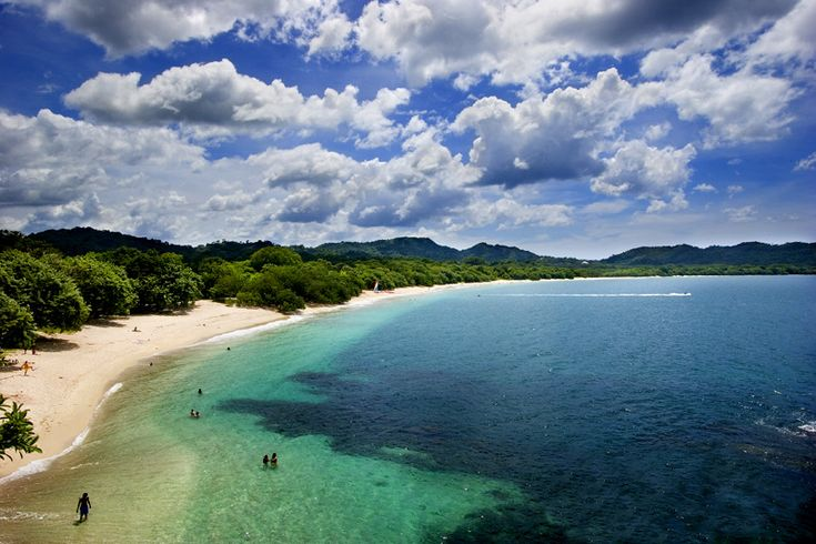 """Playa Conchal : one of the most beautiful beaches in Costa Rica. The name comes from the spanish word """"Concha"""" which means shell"""