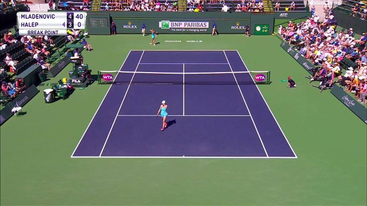 Kristina Mladenovic v Simona Halep is LIVE on Tennis Channel Plus! #BNPPO17  Subscribe now at BuyTCPlus.com