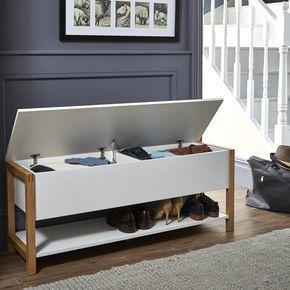 Flip top shoe storage bench - Northgate
