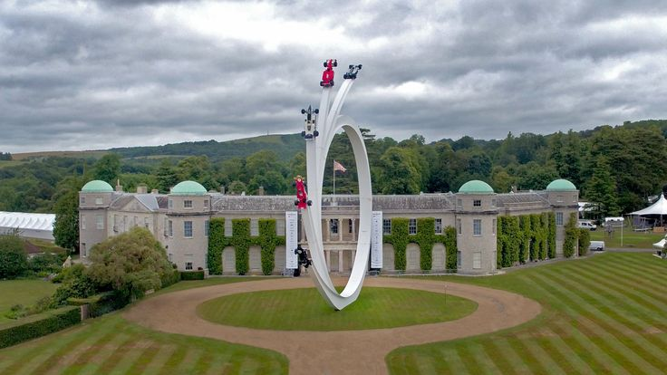 The 2017 Goodwood Festival of Speed Sculpture