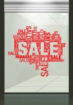shop window sale stickers - Google Search