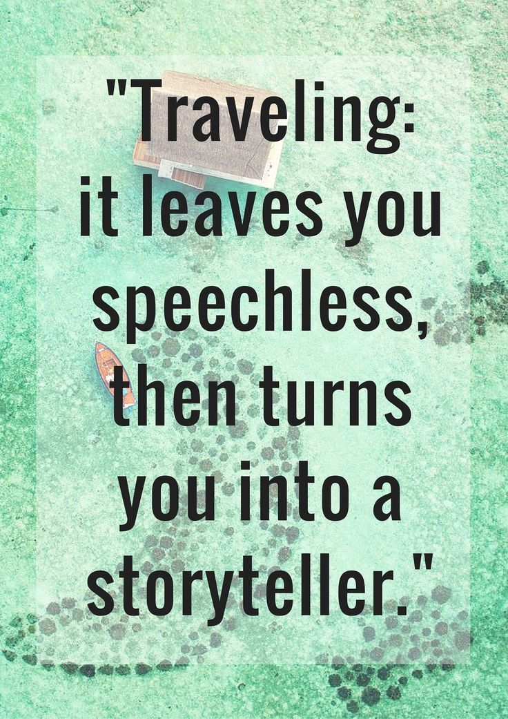 The Best Travel Quotes We've Ever Heard