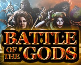 With the wings of Eros I'll stretch wide, upon the winds of fortune I'm ready to glide! Spin the wheel and earn your wins at Battle Of The Gods!