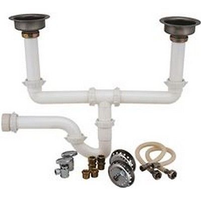 Garbage Disposals 42022: Durapro 172131 Garbage Disposal Installation Kit Double Bowl New -> BUY IT NOW ONLY: $30.71 on eBay!