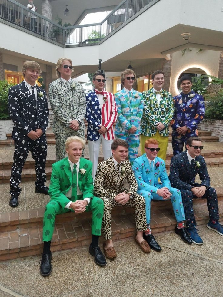 These senior guys ready for prom.   funny pictures