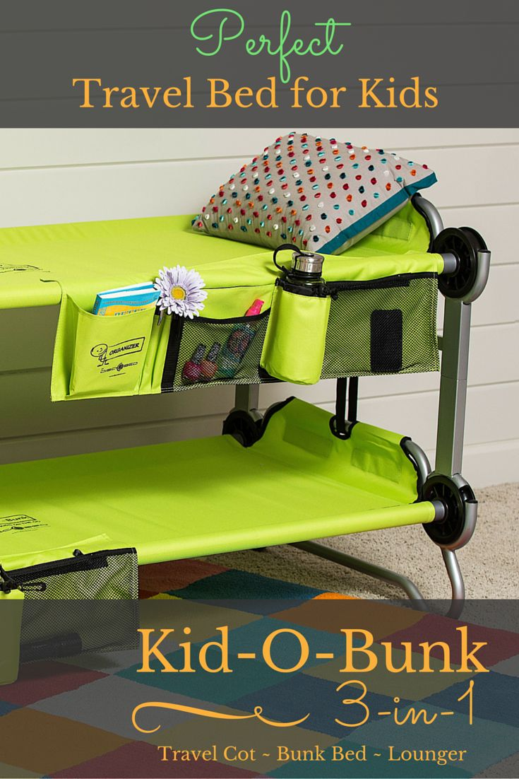 Product Review Kid O Bunk The O Jays Sleep And Travel