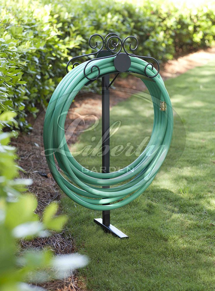 The Liberty Model 645 #ornamental Hose Stand Makes For An Attractive  Addition To Any Yard
