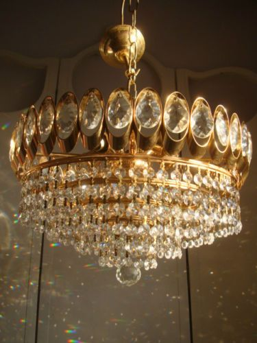 dazzling-vintage-french-6-tier-waterfall-crystal-chandelier