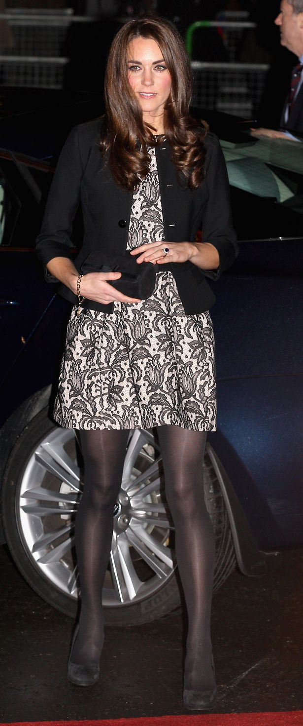 Catherine, Duchess of Cambridge arrives for a Gary Barlow Concert in support of The Prince's Trust, at the Royal Albert Hall (615×1471)