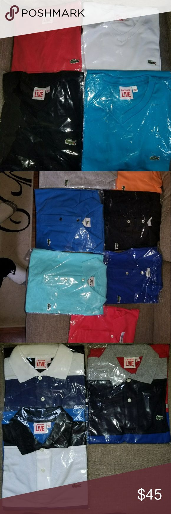 Lacoste shirts Lacoste shirts for sale. Brand new and original. Sizes medium and large. Lacoste Shirts