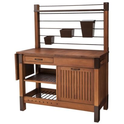 Smith Hawken Premium Quality Potting Bench   Traditional   Gardening Tools    By Target