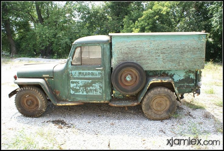 Thread Willys Jeep Truck Project From The Woods 1947 1948