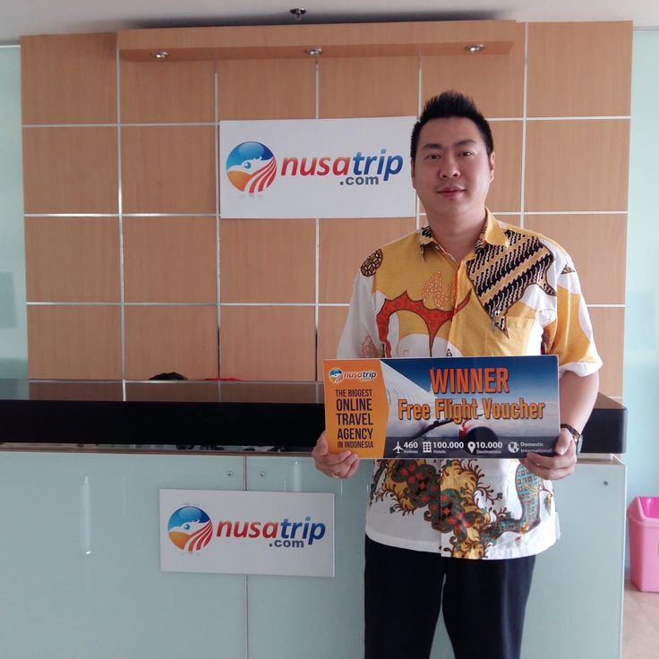 Selamat kepada Bapak Dedy Setio yg berhasil menjadi Top Spender pada #promo kartu kredit ANZ di #NusaTrip periode bulan April - Juni 2015. Bapak Dedy Setio mendapatkan 2 (1 pasang) #tiketpesawat Jakarta - Tokyo PP GRATIS! Ayo Traveler ikuti terus #promo yang ada di NusaTrip!  #ANZ #ANZpromo #NusaTrippromo #tiketpesawatgratis #liburangratis #onlinetravel #tokyo