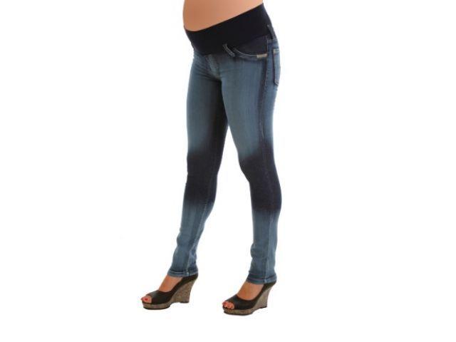 Jean chupín corrosión parche - ¿Qué será? - Blunki  - Futura mamá - Embarazada - Ropa embarazo #Embarazo Pantalon de embarazada