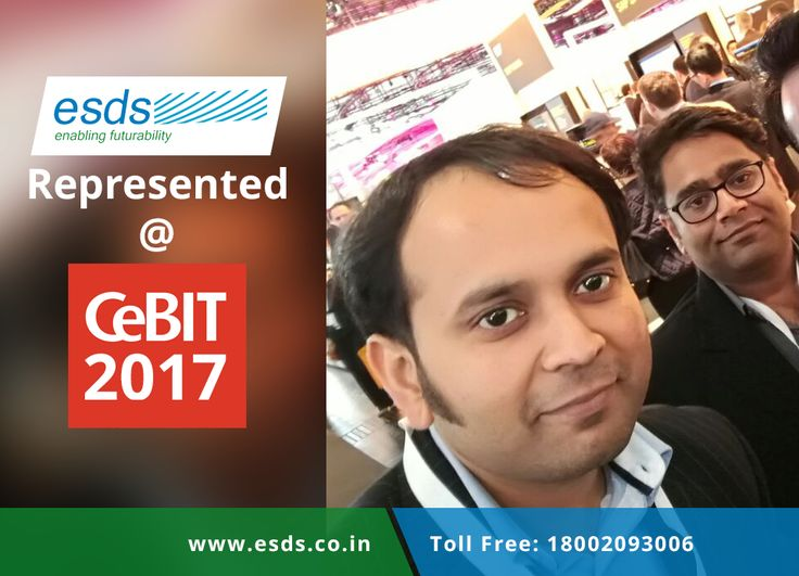 ESDS represented at CeBIT 2017