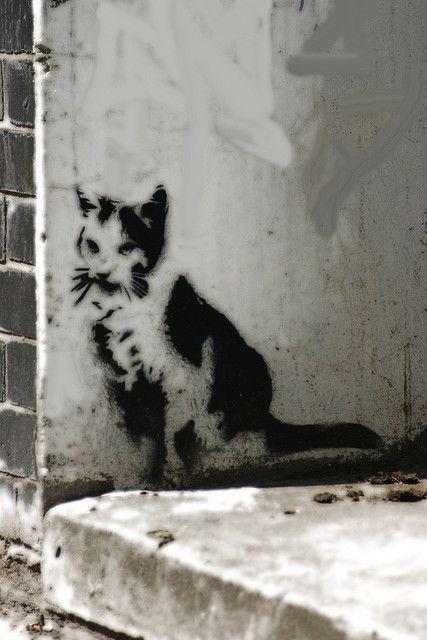 Banksi Cat London