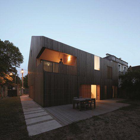 24 best maison bois images on Pinterest Architecture, Arquitetura