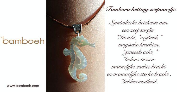 Natuurlijke  ambachtelijke sieraden van Tambora. #natuurlijk #sieraden #pinctadamaxima #handwerk #zeepaardjeketting