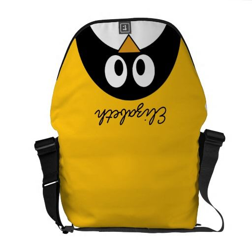 Cute and Modern Cartoon Penguin Commuter Bags