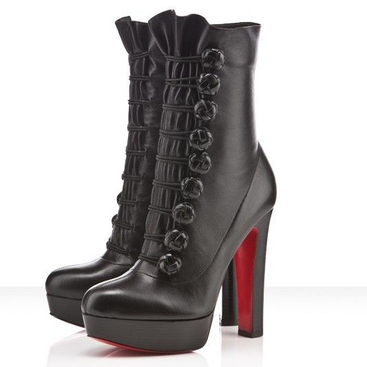 Unique New Christian Louboutin Chasseresse 140mm Boots