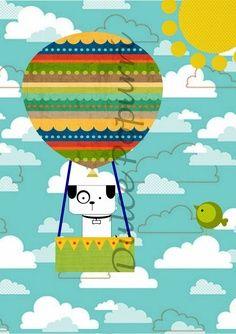 invitación globo aerostático - Buscar con Google