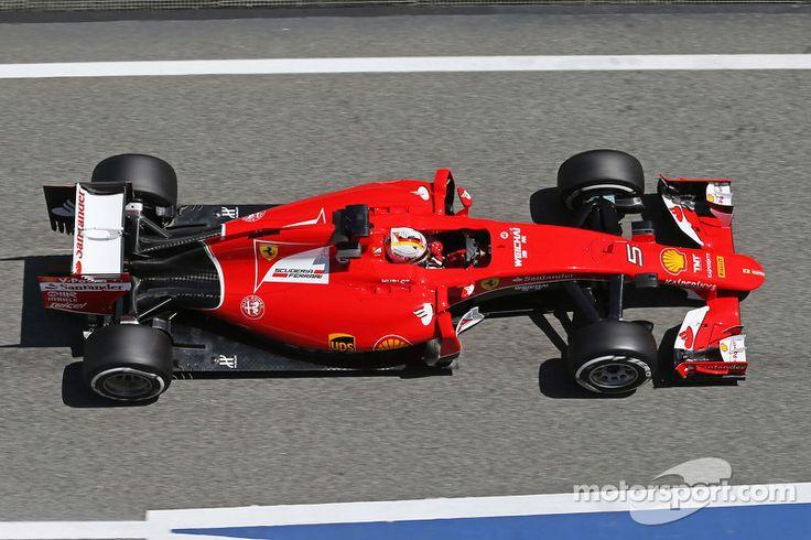 2015 GP Hiszpanii (Kimi Räikkönen) Ferrari SF15-T