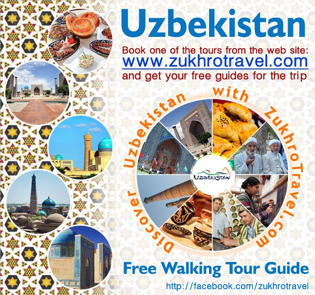Book your tours for autumn 2014 with Zukhro Travel and get your local free guides.