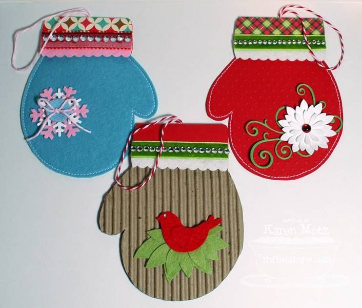 Too cute!  These are gift card holders and a link to the tutorial is on splitcoaststamper...