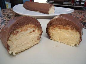 Postres Dukan: BRAZO de gitano con masa de TOFU (relleno de lemon curd y cubierto de chocolate)