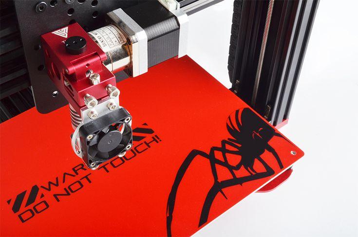 2016 Последним TEVO Черная Вдова Большая Площадь Печати 370*250*300 мм OpenBuild Экструзии Алюминия 3D комплект Принтера 3d принтер печати купить на AliExpress