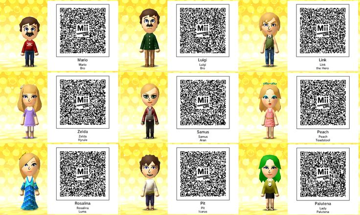 Qr codes nintendo and video games on pinterest