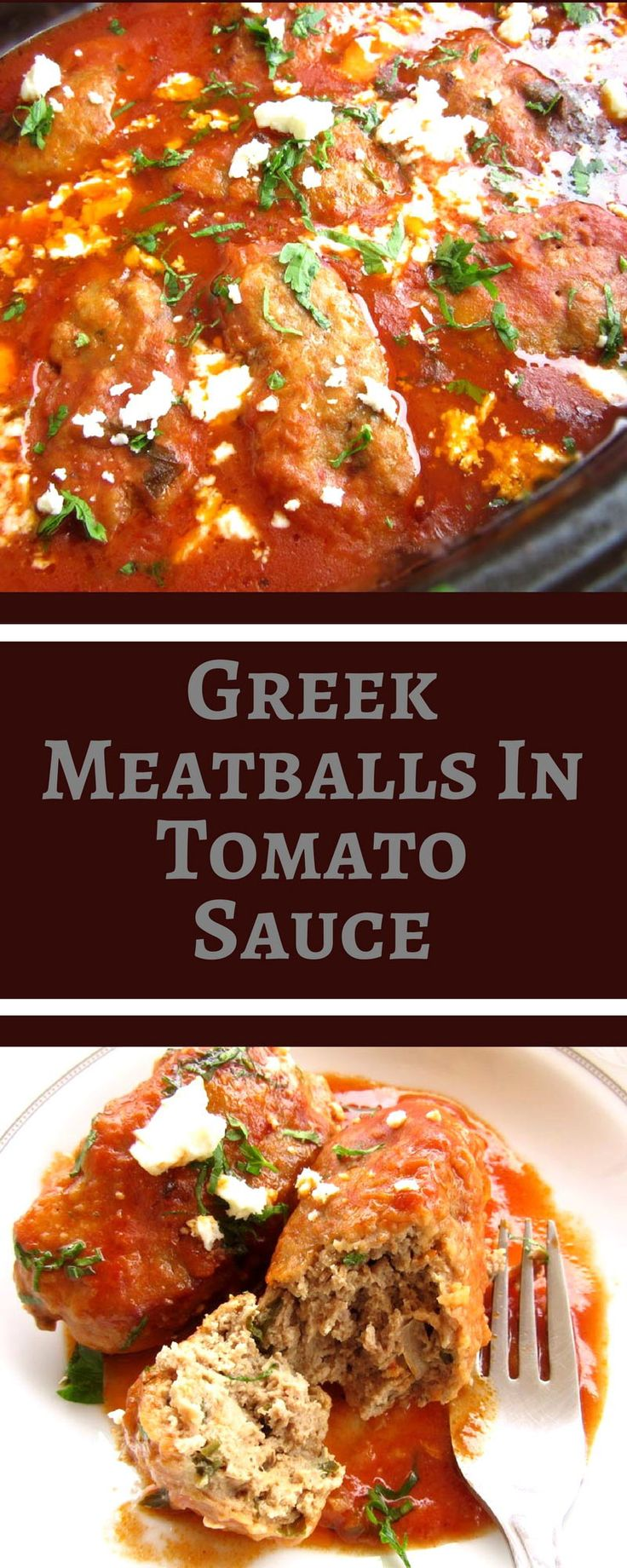 Melt-in-your-mouth meatballs in a flavorful tomato sauce.