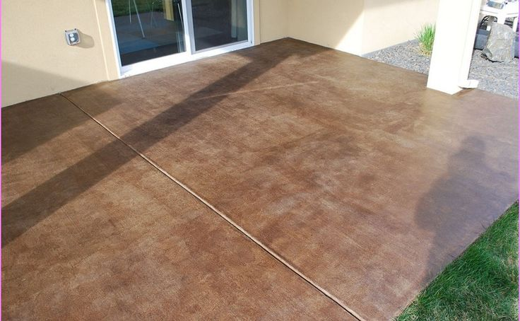 Colors Stained Concrete Patio images