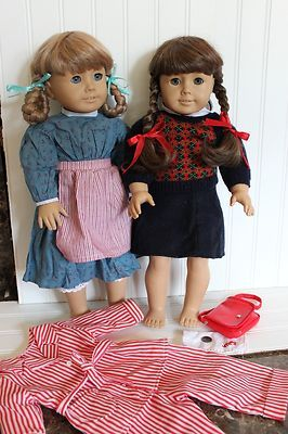 Pleasant Company Kirsten Molly American Girl Doll PM Clothes Pajamas Retired | eBay