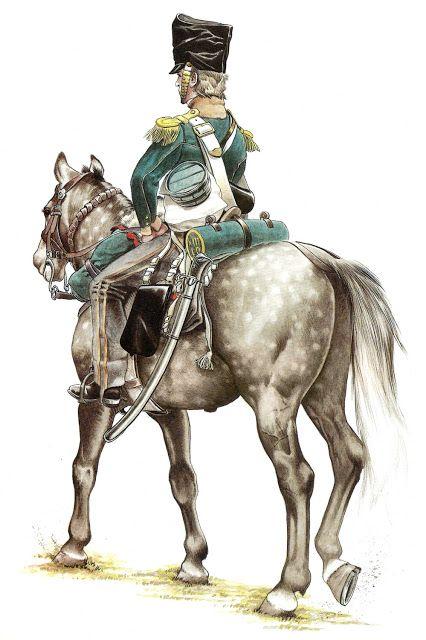 13 Th English Light Dragoon.