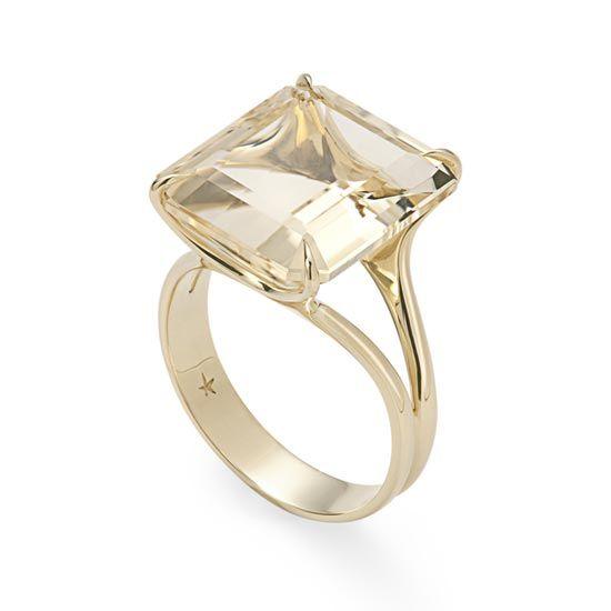 Anel de ouro amarelo 18K  com citrino http://m.hstern.com.br/joia/anel/highlight/A2CT147456                                                                                                                                                                                 Mais