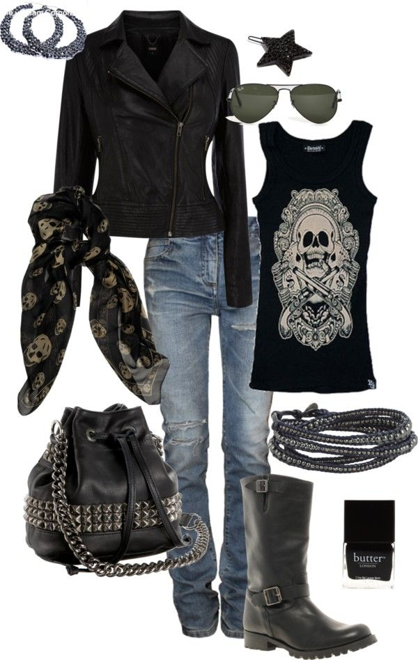 HeLLs AnGeL, created by lynstemmerman on Polyvore