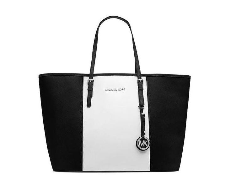 Michael Kors Jet Set Center-Stripe Travel Tote aka my new love