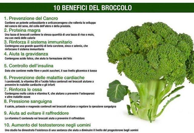 sapereconsapore: 10 benefici del broccolo...