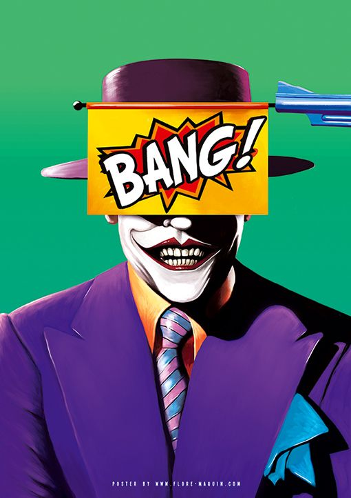Jack Nicholson Joker   Flore Maquin