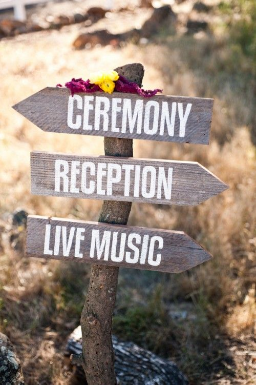 YES! I knew I couldn't be the only one to ever want to have a music-festival-type wedding.