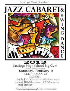 FlyersUp! Jazz Cabaret & Swing Dance - Saratoga, CA