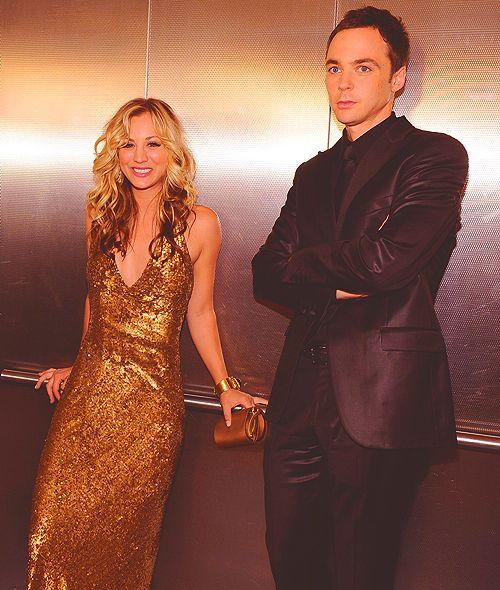 Kaley & Jim The Big Bang Theory