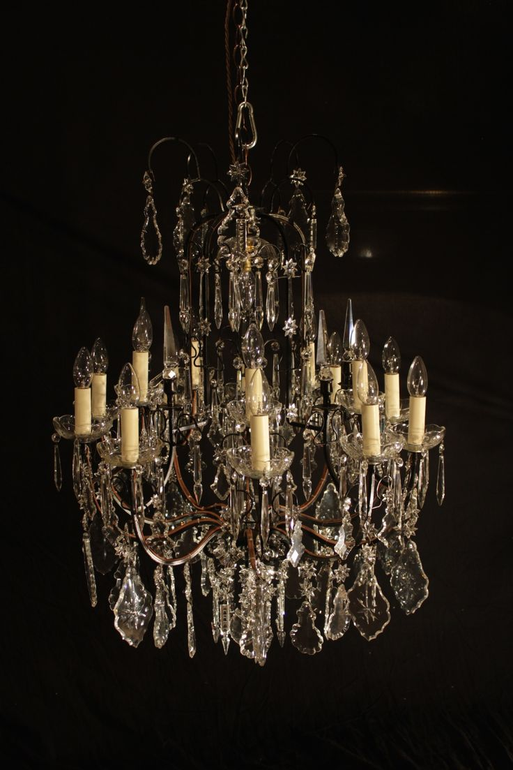 19 best antique french chandeliers images on pinterest french 21 lamp 10 arm cage chandelier gil0513 french chandelierchandelier lamps chandeliersantique arubaitofo Gallery