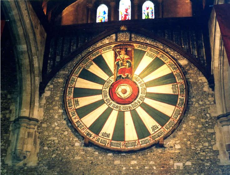 17 best images about king arthur on pinterest lakes welsh and somerset - Round table winchester cathedral ...