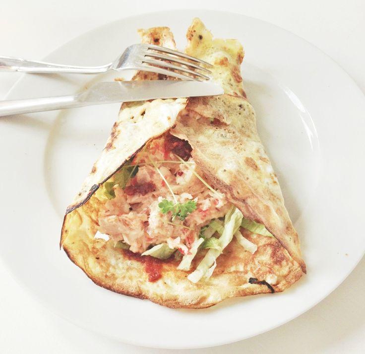 Ægge-wrap ala Torvehallerne med tunsalat
