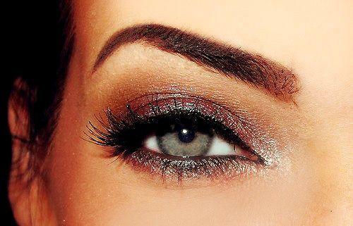 Lovely eye makeup.