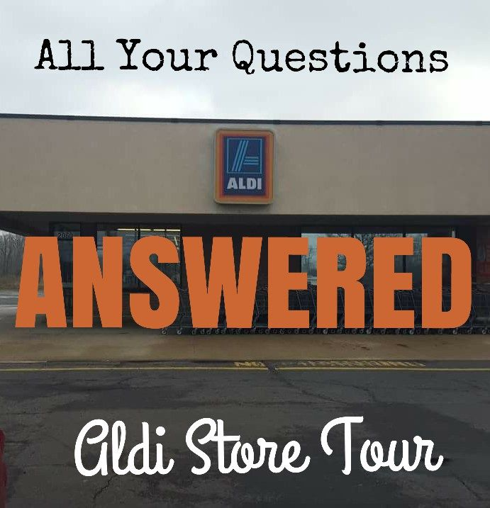ALDI Store Tour Q&A - Learn how ALDI operates to save YOU money! www.thealdinerd.com
