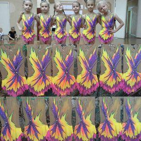 Купальники для художественной гимнастики NikA