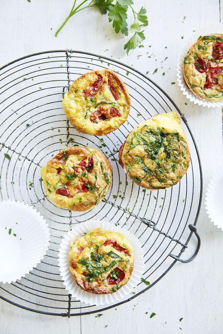 Een overheerlijke ei-muffins, die maak je met dit recept. Smakelijk!